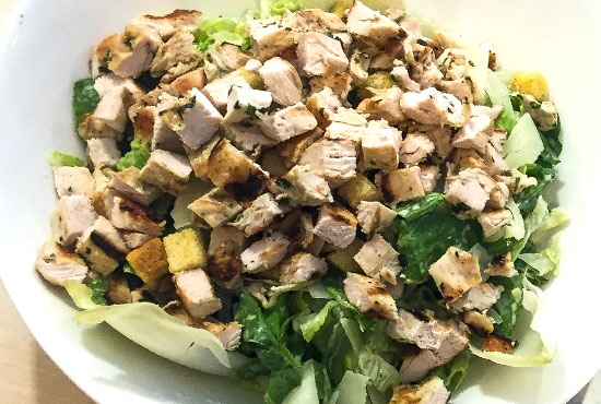 Chopped Chicken Salad..... Don't Miss Our Daily Salad Specials